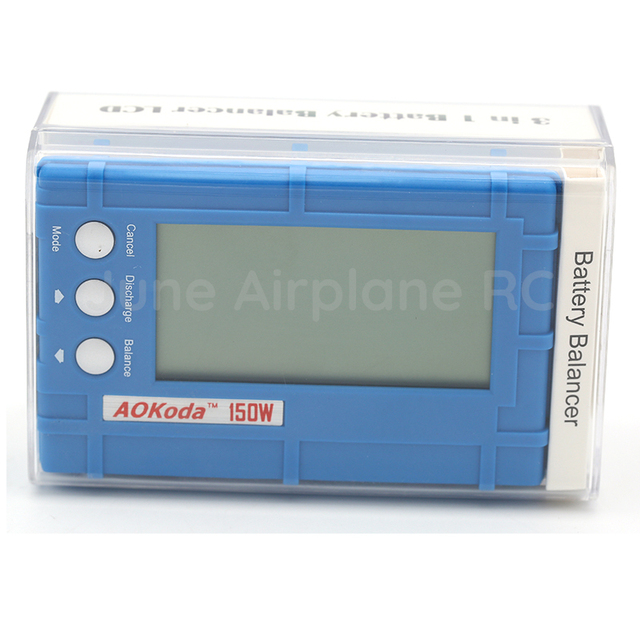 AOKoda 3 in 1 Battery Balancer LCD, Voltage Indicator, Battery Discharger 5W 150W