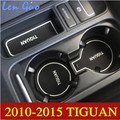 Высокое качество чехол для 2010 - 2015 VW Volkswagen Tiguan 13 шт./лот слот ворота площадку резиновые-кубок мат / колодки автомобильные интерьера