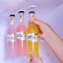 Магнитная вешалка для бутылок на холодильник, пивная банка и держатель для холодильника или кабины, дропшиппинг, Apr03