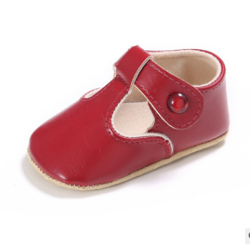 2019 Cute Shallow Baby Girls Shoes 0 and 1 Year Old Baby Toddler Shoes  Indoor Soft Bottom Anti-slip Bebe First Walkers