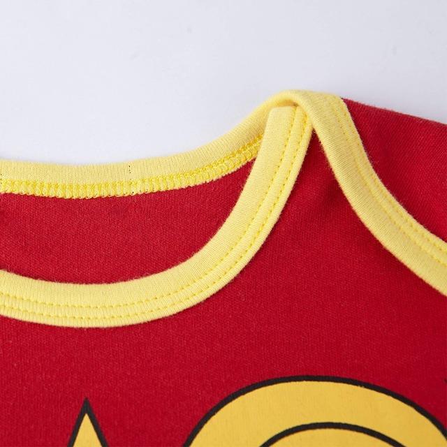 Bébé Filles Wonder Woman Body Manches Longues Taille 0-24 m