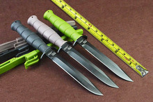New Ltems 3 Options! Tactical Survival Fixed Knives,440 Blade ABS Handle Camping Knife,Hunting Knife.