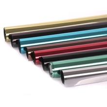Sunice отражающая УФ самоклеящаяся пленка для окон самоклеющееся зеркало пленка стекло теплопередача виниловые наклейки 80x500 см