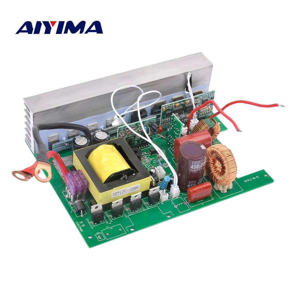 AIYIMA 1 pc onduleur à onde sinusoïdale Pure convertisseur de poussée solaire 12 V To220V 800 W convertisseur de fréquence de puissance entraîne la Suite de plaque de carte principale