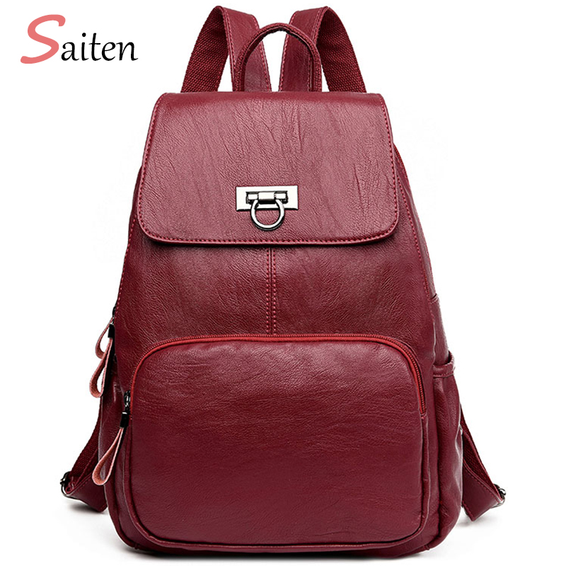 Women Backpack Preppy Style Fashion Bags Famous Brand School Bag For Teenage Girls Travel bags New Arrival 2017 bolsa mochila flower princess brand canvas backpack women high school teenage girls school bags preppy style ladies travel mochila escolar