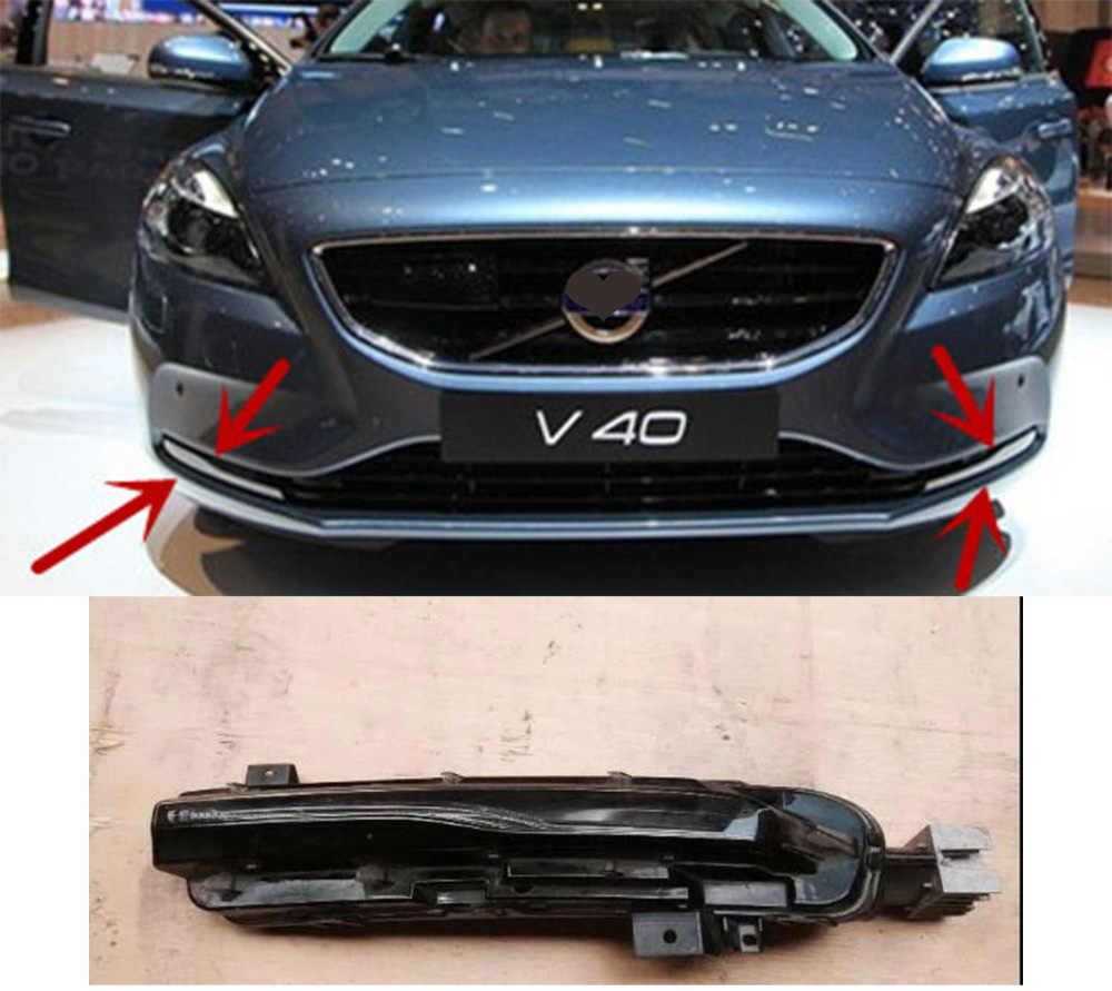For volvo v40 front bumper light daytime running led