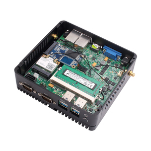 Image 5 - AVBS Mini PC Double LAN Celeron N2810 Celeron J1900 Mini Ordinateur LAN Gigabit Windows 7 pare feu pfsense PC Mini 2 * COM HDMI TV BOX