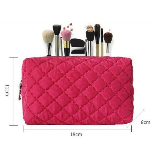 New Women Multifunction Travel Portable Cosmetic Bag Makeup Case Pouch Toiletry Organizer Storage Black Blue Pink Purple Orange 3