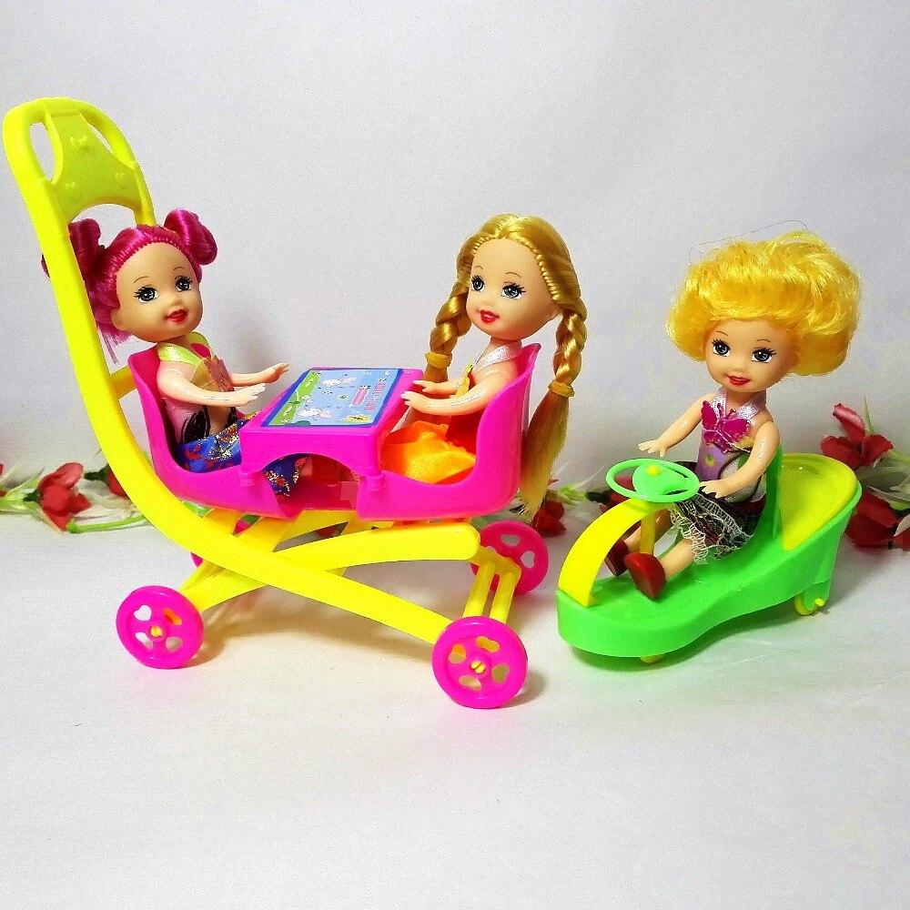 Fashion Doll Leker Family 6 People Dolls Suits 1Mom / 1Dad / 3 Little - Dukker og tilbehør - Bilde 2