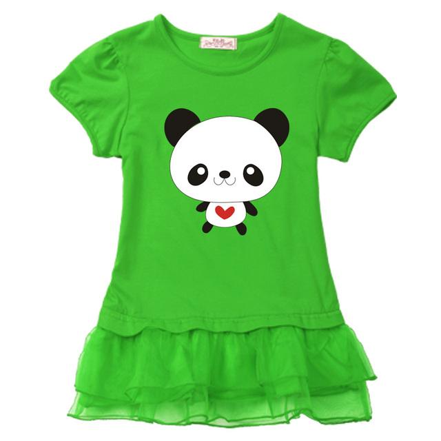 T-shirts kjole til piger børn tøj 5 år