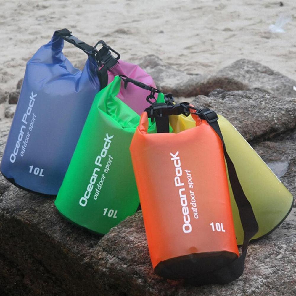77277bd7962 1 x Waterproof Dry Bag 1 x Shoulder strap(5L 10L include) 2 x shoulder  strap(20L include)