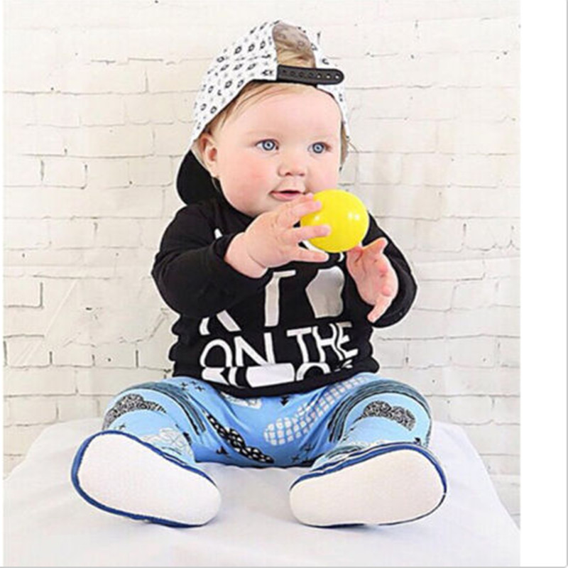 Newborn Baby Boys Girls T-shirts Tops Pants Trousers Leggings Outfit Set Clothes summer baby boys girls casual style infant cotton suits toddler girl baby outfit lace t shirts tops shorts pants dot suit set