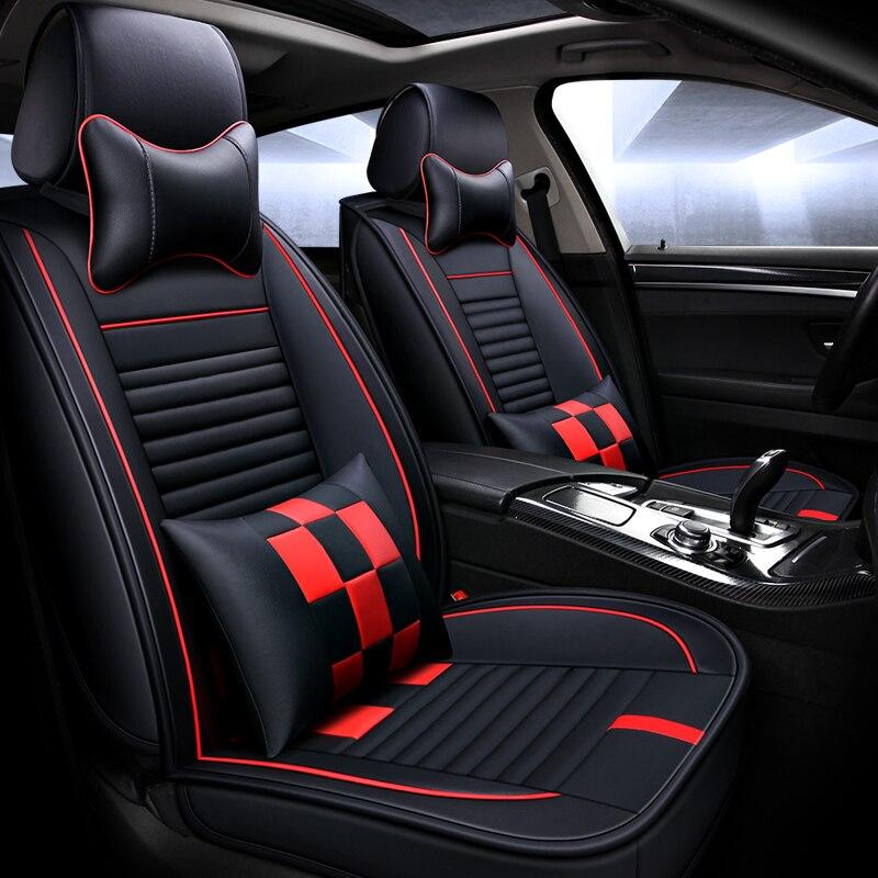 Universal PU Leather car seat covers Car pad Car Styling For BMW e30 e34 e36 e39 e46 e60 e90 f10 f30 X1 x3 X4 x5 x6 car accessor