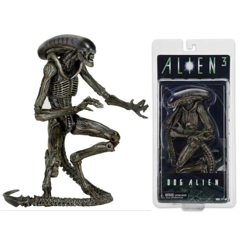 In Box Alien 3 Dog Alien PVC Action Figure Collectible Model Toy 18cm Free Shipping neca god of war 3 kratos 18 inches kratos ghost of sparta pvc action figure collectible model doll toy with box