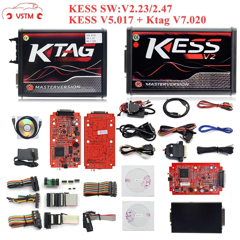 2019 KESS Ktag K TAG V7.020 KESS V2 V5.017 SW V2.25 v2.47 2.47 Master ECU Chip Tuning Tool K TAG 7.020 Online Better KTAG V7.003|full set|bdm probeecu frame - AliExpress