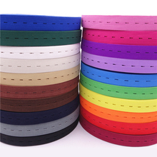 Clothes-Accessories Waist-Band Multicolour Adjustable Flat 20mm with Hole DIY Craft-Supply