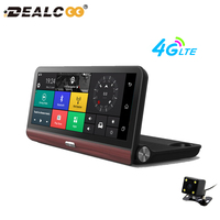 8' Touch Screen Car Navigation with Russian Europe Free Maps 1080P Car DVR Recorder Camera Android 4G WIFI Dash Cam Navigator