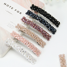 6 PCS Fashion Women Girls Bling Hair Clip Headwear Crystal Rhinestone Hair Clip Barrette Hairpin Hair Accessories crystal rhinestone butterfly barrette gentle hair clip hairpin gift fashion women girls