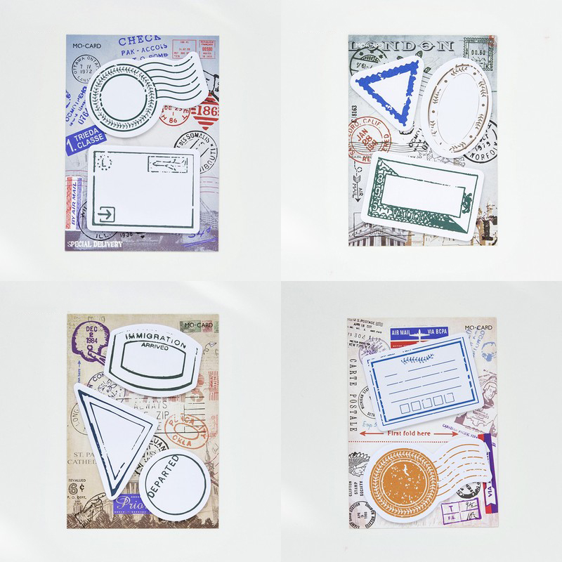 Traveling Passport Sticky Note 30/40 Sheets Decoration Memo Pad N Time Notepad Notice Stickers School Supplies
