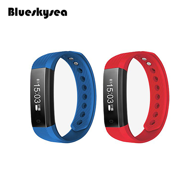 Waterproof Smartband Bluetooth 4.0 Smart Wristband Sleep Monitoring with 0.86 Inch OLED Touch Screen Step Counting