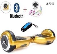 RU FREE SHIPPING 6 5 2 Wheel Skateboard Adult Electric Scooter Electric Hoverboard Skateboard Giroskuter Smart