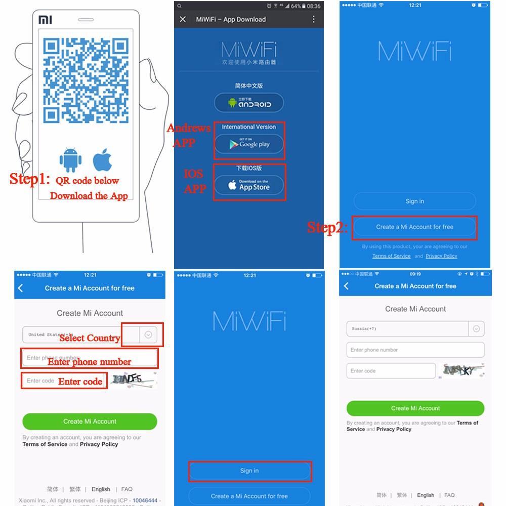 Xiaomi Mi WIFI Router 3 English Version 1167Mbps WiFi