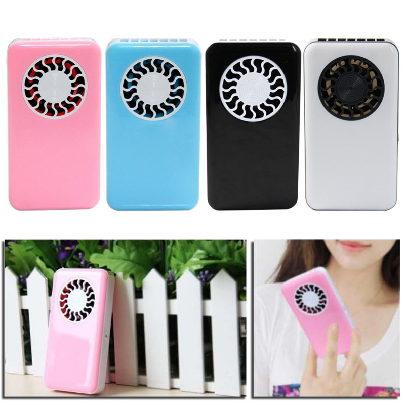 Brand Mini Air Conditioner Fan Portable USB Cooler Cooling Rechargeable Handheld Micro Home Applicances Pocket Fan