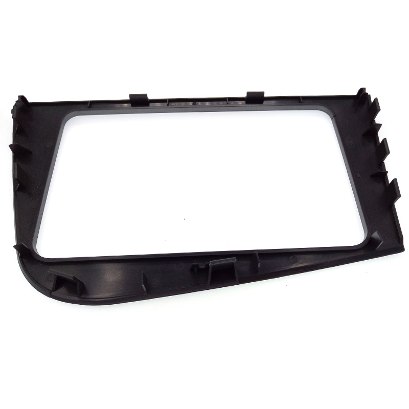 Image 3 - DOUBLE 2 DIN Car DVD FRAME Radio Fascia for SEAT Leon (LHD) Left Hand Drive stereo face plate frame radio panel dash mount kit-in Fascias from Automobiles & Motorcycles