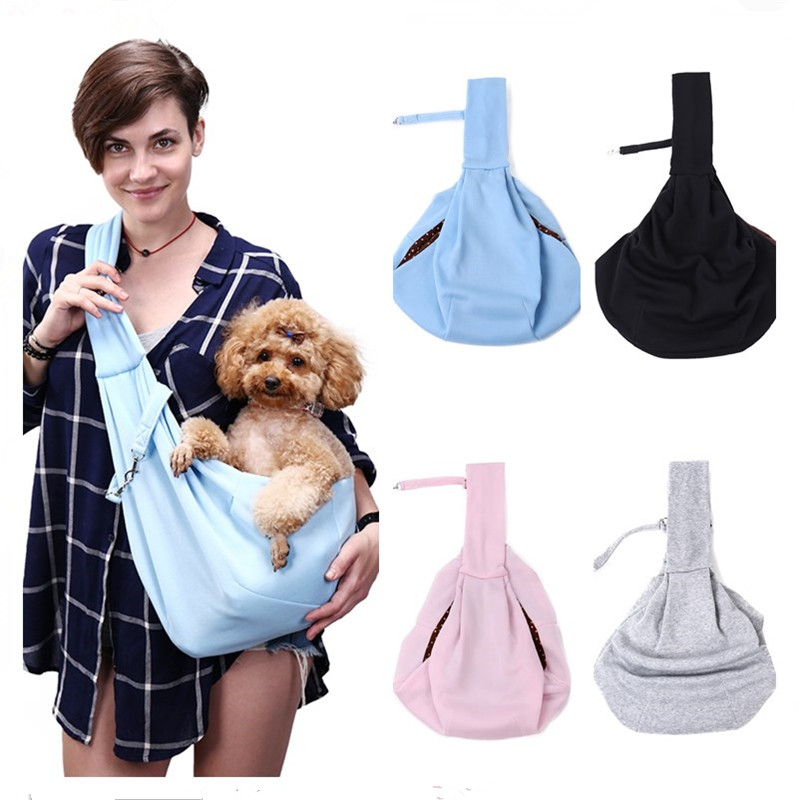 Pet Carrier For Dog Cat Breathable Outdoors Travel Foldable Portable Shoulder Bag For Puppy Kitten Rabbit Small Animals Hammock