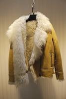 Arlene Sain 2017 New High Quality Turkish Imports Tuscany Do Not Lose Hair Wool Fur Coat