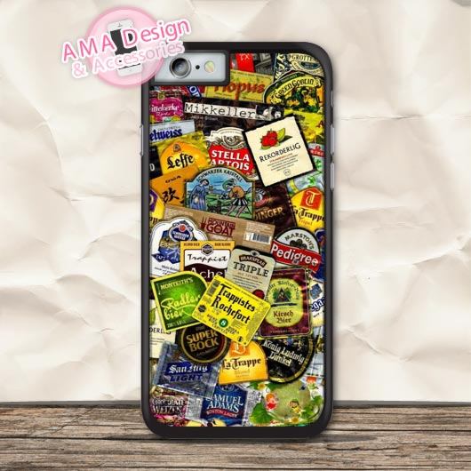 Beer Collections Retro Classic Protective Case For iPhone X 8 7 6 6s Plus 5 5s SE 5c 4 4s For iPod Touch
