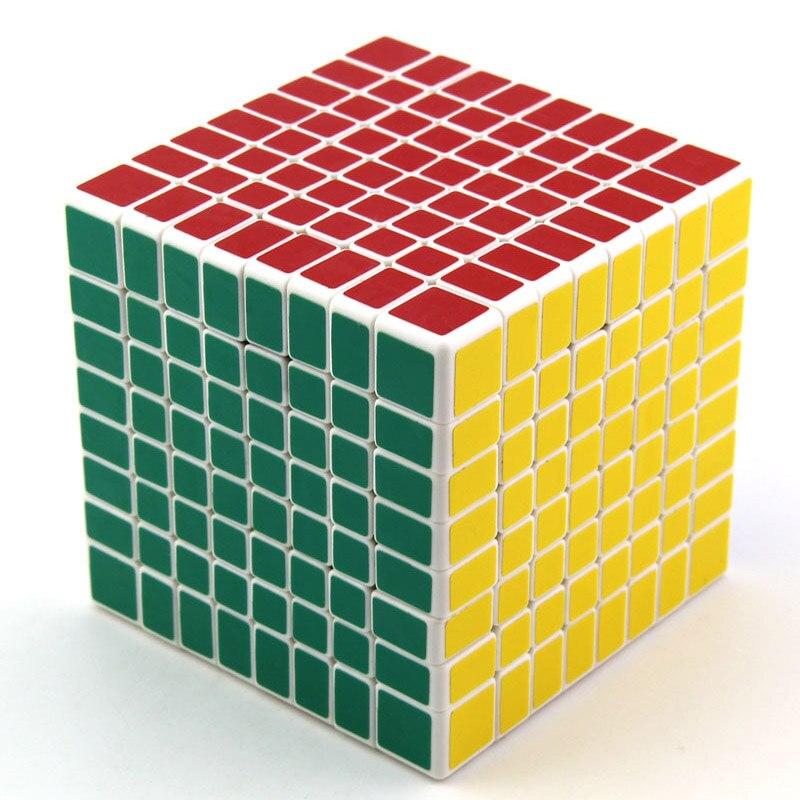 Cube néo professionnel 8x8x8 8.3cm vitesse pour Magico Cubes Antistress Puzzle Cubo Magico autocollant pour enfants jouets éducatifs pour adultes