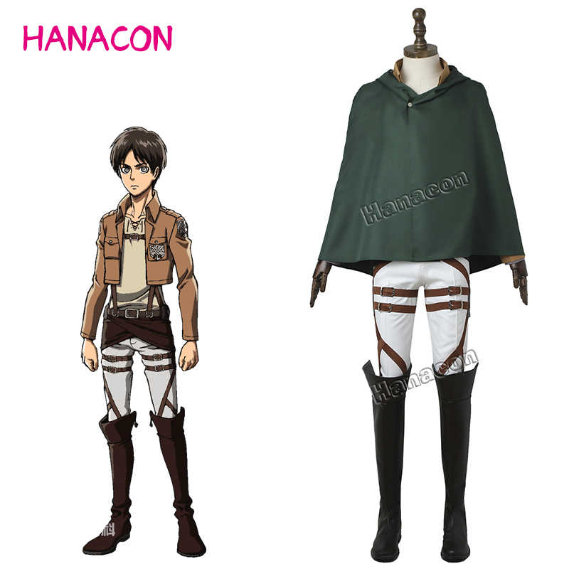Aliexpress.com : Buy Attack On Titan Cosplay Costume Hero ...