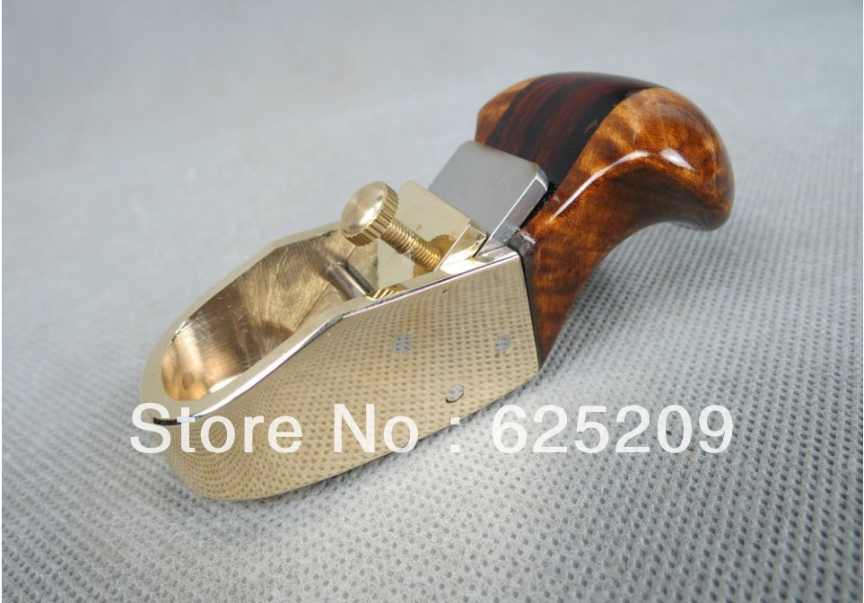 Thumb brass convex bottom planes 2 1/4 violin.cello bass.woodworking tool woodworkingluthier tools craft plane easy remove planes
