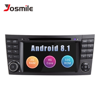 2 Din Android 8,1 dvd плеер автомобиля для Mercedes W211 E320 W219 W463 CLS350 CLS500 CLS55 E200 E220E240E350 стерео радио GPS Оперативная память 2G