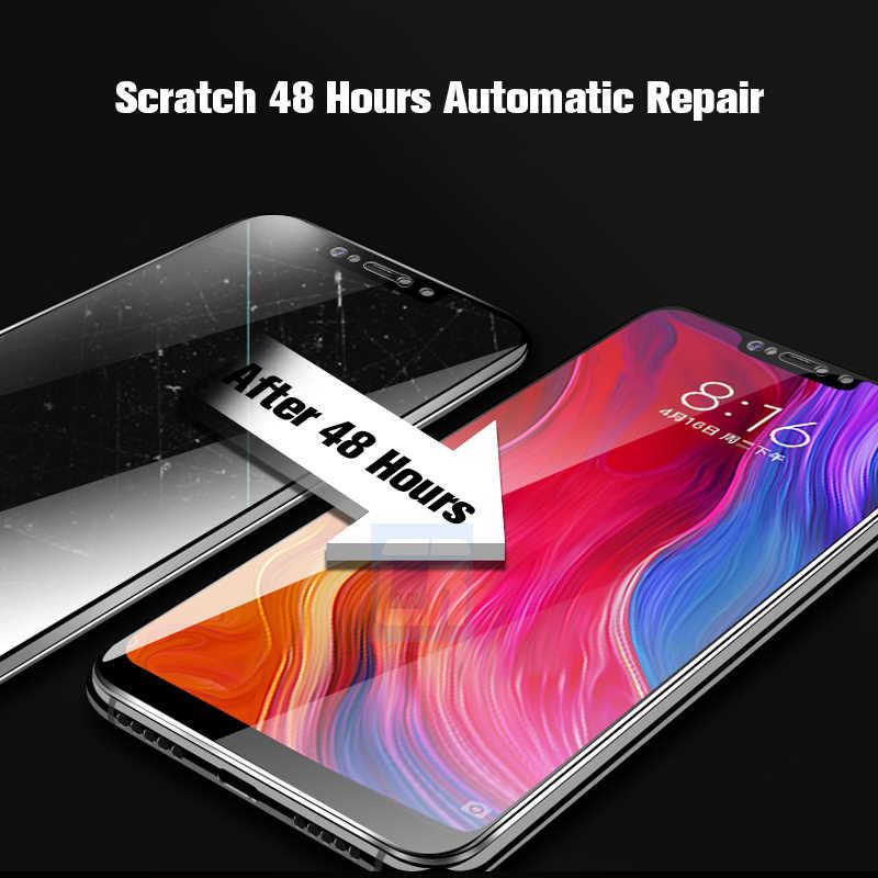 9D Full Cover Soft Hydrogel Film For Xiaomi Mi 9 Mi 8 Lite Mi 9 SE Mix 3 Max 3 Screen Protector For Redmi K20 Note 8 7 6 Pro 7