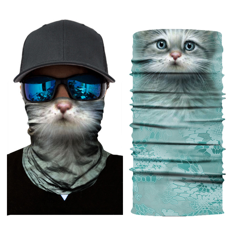 3D Animal Seamless Balaclava Scarf 17