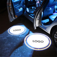Case For Toyota 12V 5W LED Car Led Ghost Shadow Light Logo Projector 2 x Laser Door for Audi lowest price