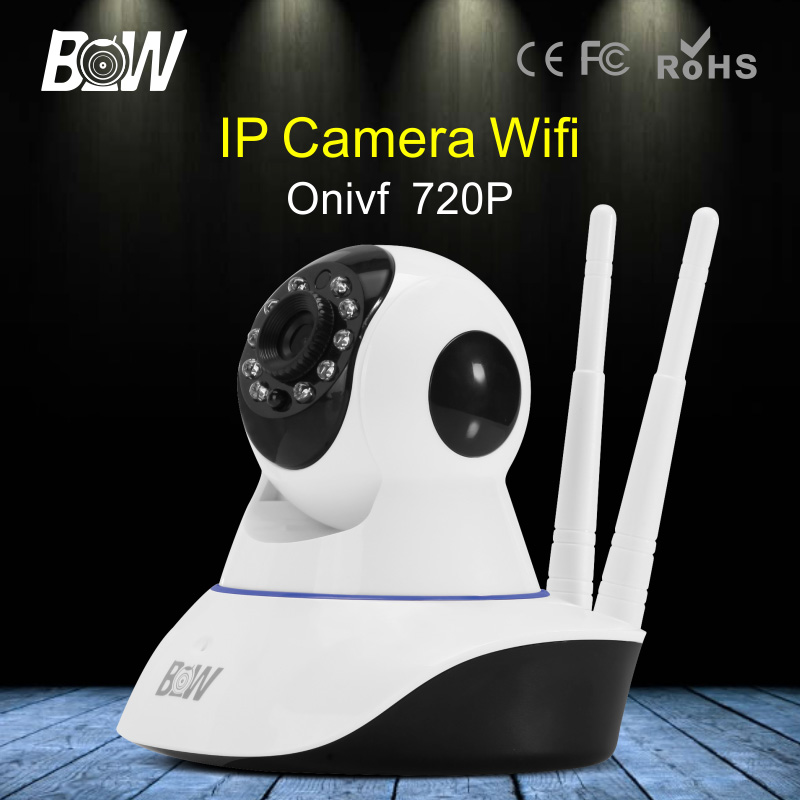 BW-IPC002D Wireless IP Camera Wifi Onvif 2 Way Audio Video Surveillance Security Camera HD 720P Wi Fi Camera P2P Infrared IR wifi ipc 720p 1280 720p household camera onvif with allbrand camera free shipping