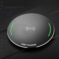 Goldfox New Arrival 9V 10W Fast Charger Charging QI Standard Wireless Charger Pad For Iphone 8