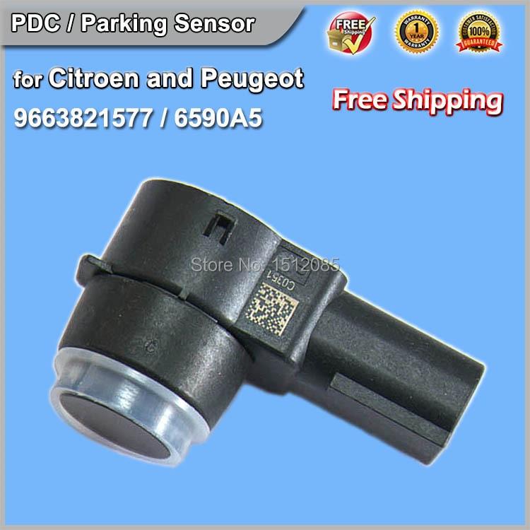 Parking PDC Sensor CITROEN Berlingo C4 C5 C6 DS3   6590F5  6590EF  20102722