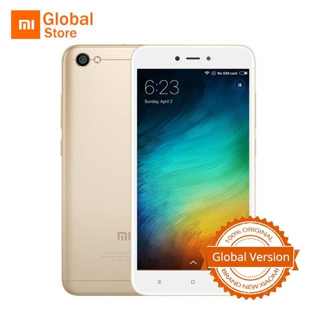 """Глобальная версия Xiaomi Redmi Note 5A note5a 2 ГБ Оперативная память 16 ГБ Встроенная память мобильного телефона Snapdragon 425 4 ядра 13.0mp 5.5 """"4 г FDD LTE оты"""
