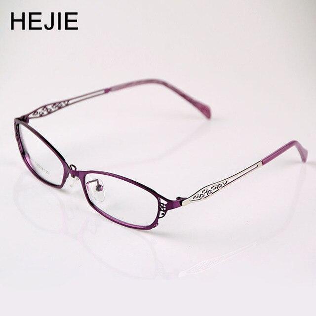 29720ad26e83c Preço de fábrica de Venda de Liga de Metal Mulheres Óculos de Armações de Óculos  Óculos