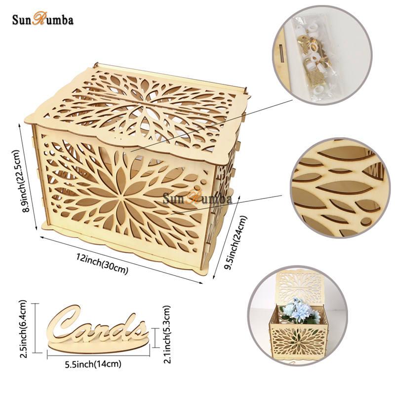 Wedding card box MUW-325-07