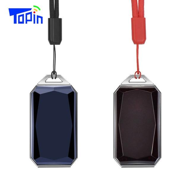 New Products IP67 Waterproof Fashion Gemstone Pendant GSM AGPS Wifi LBS SOS Mini GPS Tracker Locator for Children Student Car