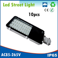 10pcs 12W 24W 40W 50W 80W 100W LED Street Lights Road Lamp Waterproof IP65 Led Lighting