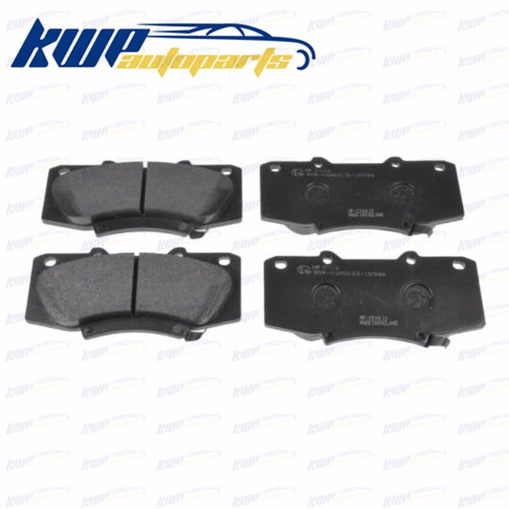 Front Ceramic Brake Pads Kit /& Hardware for 2001 2002 2003 2004 2005 Toyota RAV4