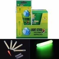 Free Air Post 250Pcs Lot 1BOX 50Bags 250Pcs Dia 4 5X37mm Fishing Lighting Stick Wand Green