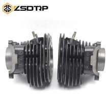 ZSDTRP Урал K750 M72 двигатель 24HP 12 В 750cc двигатель цилиндр 1 пара левый и правый Чехол для Bmw R12 R71 M-72
