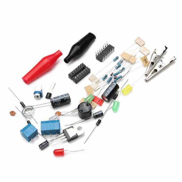 Штепсельная Вилка американского стандарта 110 V DIY LM317 Регулируемый Напряжение Питание модуль комплект